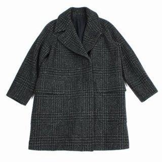 MARGARET HOWELL マーガレットハウエル 19AW LARGE PRINCE OF WALES WOOL COAT コート
