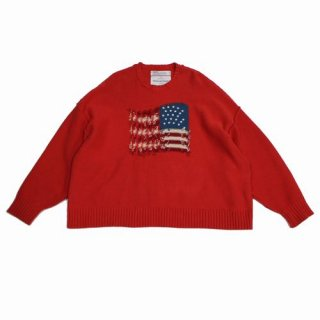 DAIRIKU ダイリク 19AW Inside Out America Knit ニット