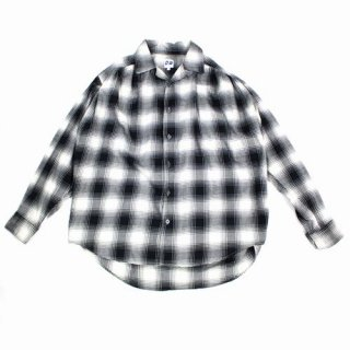 AiE エーアイイー 18AW Painter Shirt - Brushed Twill Plaid ペインター シャツ