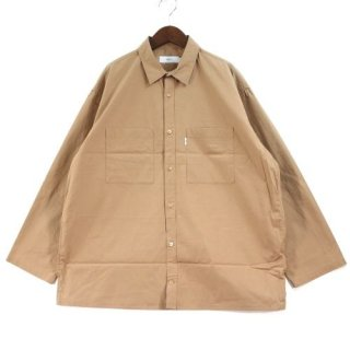 Graphpaper グラフペーパー 19SS TYPEWRITER L/S BOX SHIRT シャツ
