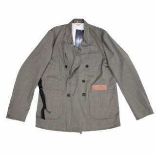 SUNSEA サンシー 20SS SNM4 DOUBLE-BREASTED JACKET ジャケット
