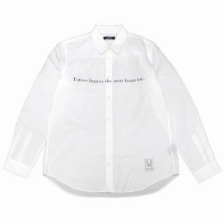UNDERCOVER アンダーカバー 17SS 長袖シャツ Patti Smith's PISSING IN A RIVER パティースミス