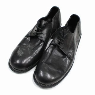 GUIDI グイディ 992 Classic Derby Shoes Laced Up Single Sole - レザーダービーシューズ