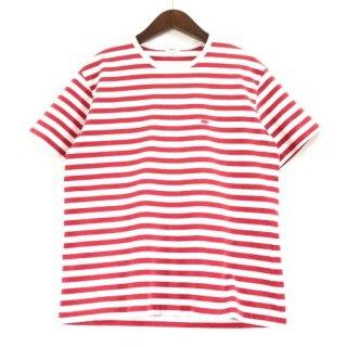 Scye × URBAN RESEARCH サイ 18SS BORDER LOGO S/S T-SHIRTS ボーダーTシャツ