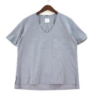 ts(s) ティーエスエス シャンブレー プルオーバー 半袖 シャツ