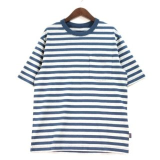 patagonia パタゴニア 20SS Men's Organic Cotton Midweight Pocket Tee ボーダー Tシャツ