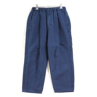 nonnative ノンネイティブ 18SS MANAGER EASY SHIN CUT PANTS RELAX FIT COTTON GROSGRAIN パンツ