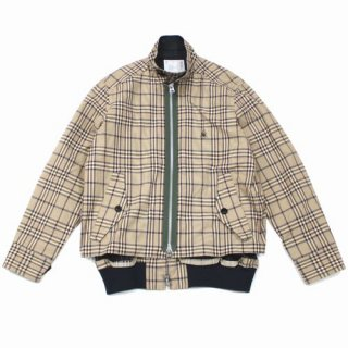 sacai × Dr.Woo 19SS チェックジャケット