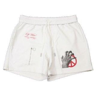 UNDERCOVER OFF-WHITE 19AW アンダーカバー オフホワイト MESH POCKT SHORTS ショーツ ショートパンツ