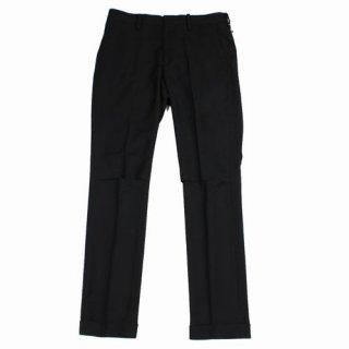 UNDERCOVER アンダーカバー 20SS ヒザアキ 裾W スラックス パンツ 1 ブラック