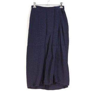 GUCCI グッチ フロント重ね スカート