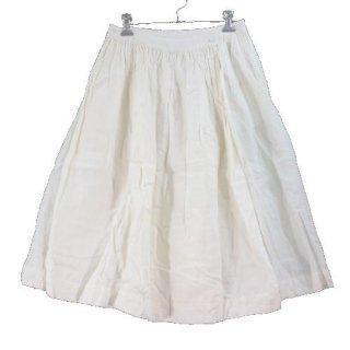 BLANKET ブランケット ラミーリネンラップスカート