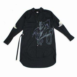 BED J.W. FORD ベッドフォード 19SS Long shirt ロングシャツ