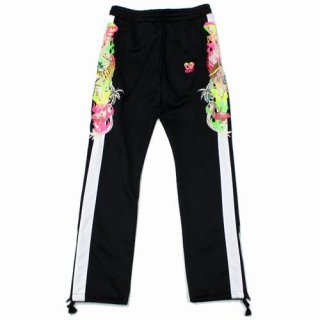 doublet ダブレット 19SS CHAOS EMBROIDERY TRACK PANTS カオスエンブロイダリー トラックパンツ