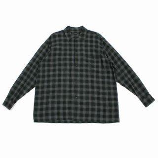 COMOLI コモリ 20SS レーヨンオープンカラーシャツ