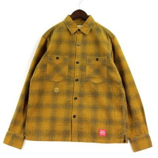 NEIGHBORHOOD ネイバーフッド 13SS KING / C-SHIRT チェックネルシャツ