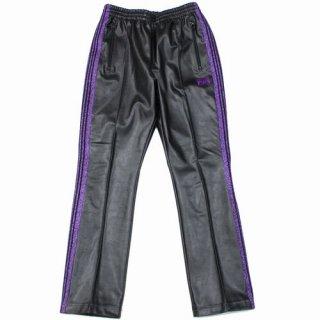 Needles ニードルス Narrow Track Pant - Synthetic Leather / Lame Tape ナロー トラックパンツ