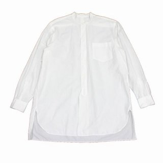 COMOLI コモリ 20SS バンドカラーシャツ