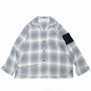 SUNSEA サンシー 20SS GINGHAM SHADOW GIGOLO&GIGOLET SHIRT チェックシャツ