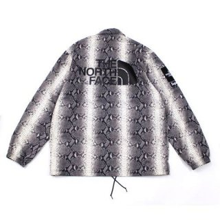 Supreme × THE NORTH FACE  18SS SNAKESKIN TAPED SEAM COACHES コーチジャケット