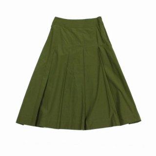 MARGARET HOWELL マーガレット ハウエル 20AW SILK COTTON POPLIN スカート