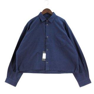 JUHA ユハ 18AW SHORT SHIRT FLANNEL ショートネルシャツ