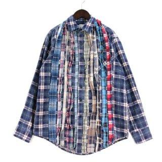 Rebuild by Needles リビルドバイニードルス Wide Ribbon Shirt リボンワイドシャツ