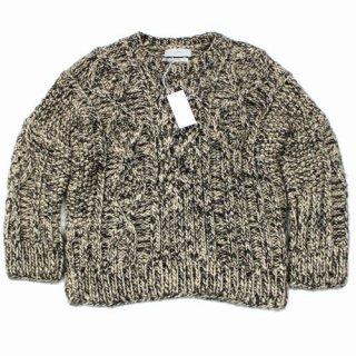 amachi. アマチ 20AW Silk Aran Knit ニット