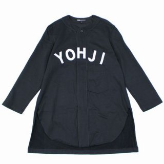 Y-3 ワイスリー 19AW M Y LTR BB SHRT ロゴ ロングベースボールシャツ