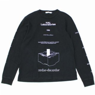 UNDERCOVER アンダーカバー 18AW LSTEE order-disorder Monolith モノリス ロングスリーブ