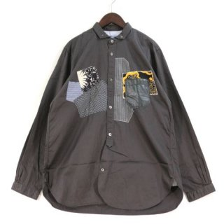 JUNYA WATANABE MAN COMMEdesGARCONS ジュンヤワタナベマン コムデギャルソン 17SS パッチワーク シャツ