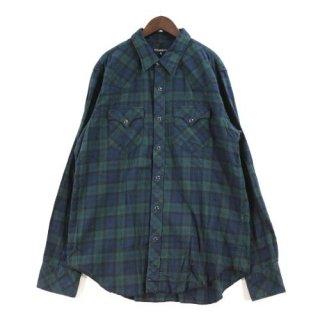ENGINEERED GARMENTS エンジニアードガーメンツ Western Shirt - Plaid Flannel ウエスタンチェックシャツ