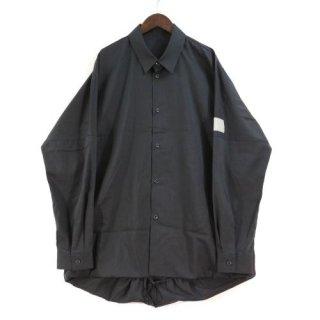 ESSAY エッセイ 20SS SH-1 Ballon Shirt - Black バルーンシャツ