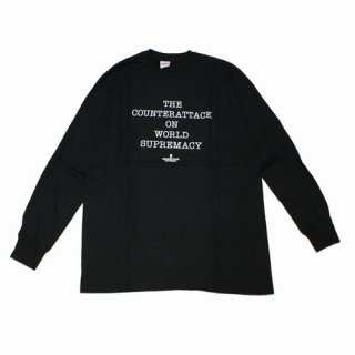 Supreme × UNDERCOVER 18SS Public Enemy Counterattack L/S Tee カットソー