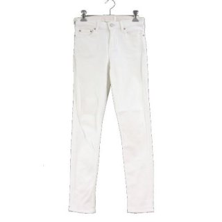 Acne Studios アクネステュディオスSKIN 5 SKINNY JEANS OPTIC WHITE スキニー パンツ