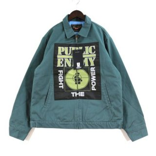 Supreme × UNDERCOVER 18SS Public Enemy work jacket ワークジャケット