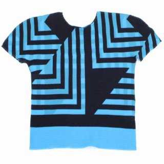 me ISSEY MIYAKE ミー イッセイミヤケ 20SS SHIFTED SQUARE プリーツ Tシャツ