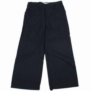 SUNSEA サンシー 19SS LINEN PANTS リネン ワイド ストレート パンツ