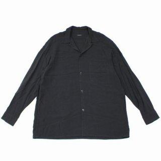 COMOLI コモリ 19SS レーヨンオープンカラーシャツ