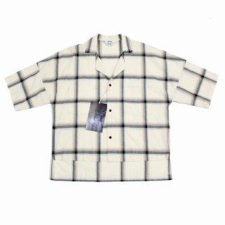 SUNSEA サンシー 17SS CHECK FRIED SHRIMP SHIRT 半袖チェックシャツ