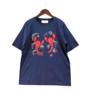 MUVEIL ミュベール 18SS サソリ刺繍Tシャツ