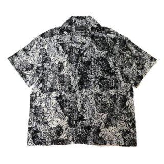 PLATEAU STUDIO プラテールスタジオ 21SS classic floral shirt 花柄 フローラル シャツ
