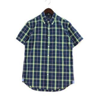 AMERICAN EAGLE アメリカンイーグル VINTAGE FIT 半袖ボタンダウンチェックシャツ