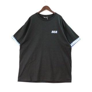 WINDANDSEA ウィンダンシー 21SS WDS (D.T.R.T) - Motion - Plaid Tee Tシャツ
