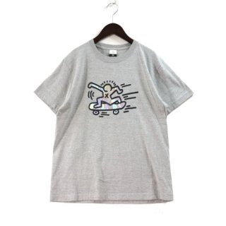 KEITH HARING キースへリング BEAUTY&YOUTH 別注 mirror SK8 TEE Tシャツ