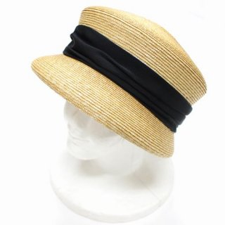 COTTAGE Hat Shop & Millinery 八ヶ岳 コテージ ストロー ハット NO.7