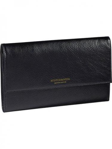 [スコッチ&ソーダ]Leather Travel Wallet(コンボA)