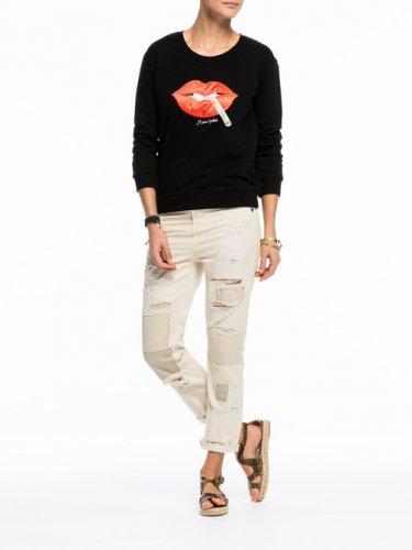 [スコッチ&ソーダ]Pop Culture Sweater(ブラック)