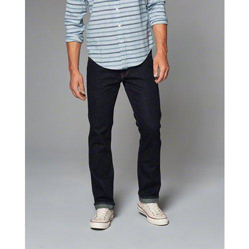 [アバクロ]Slim Straight Jeans(リンス)