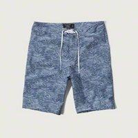 [アバクロ]9' Board Fit Swim Shorts(ブルーパターン)